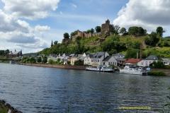 Saarburg, Burganlage und Saar
