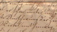 alte deutsche Schrift zu transkribieren