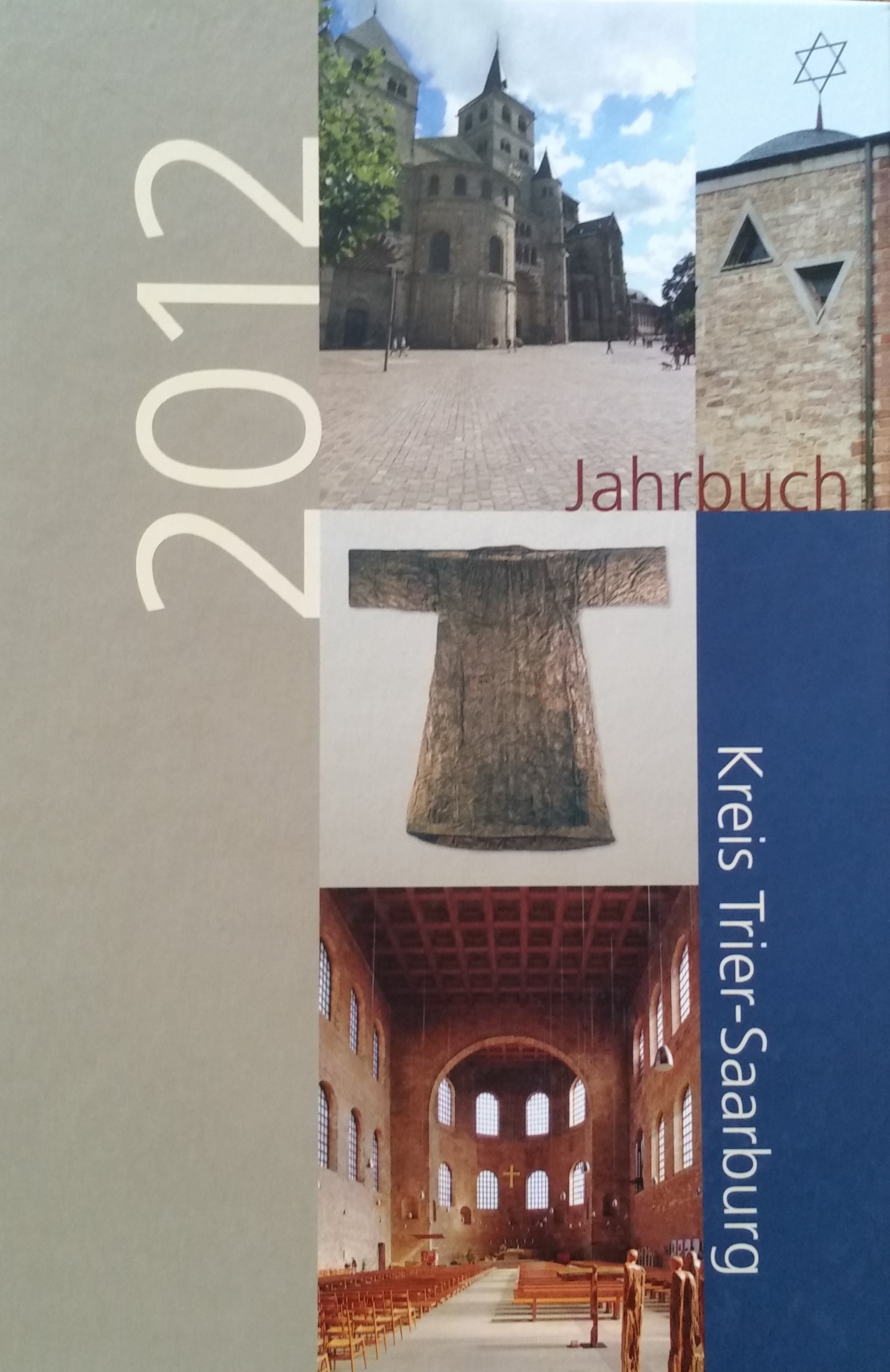 Kreis Trier-Saarburg Jahrbuch2012 Bucheinband vorne