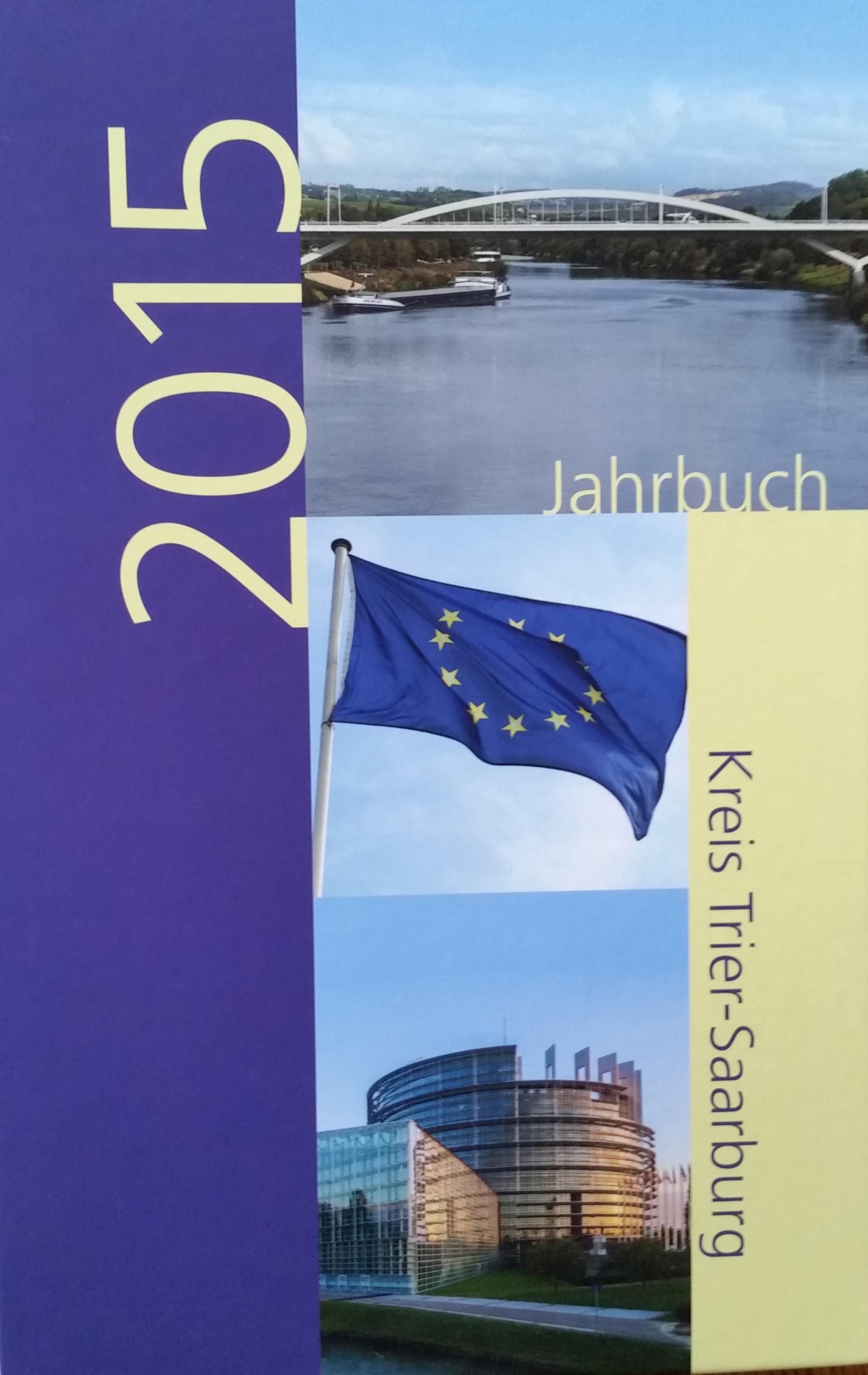 Jahrbuch 2015 Kreis Trier-Saarburg Bucheinband vorne