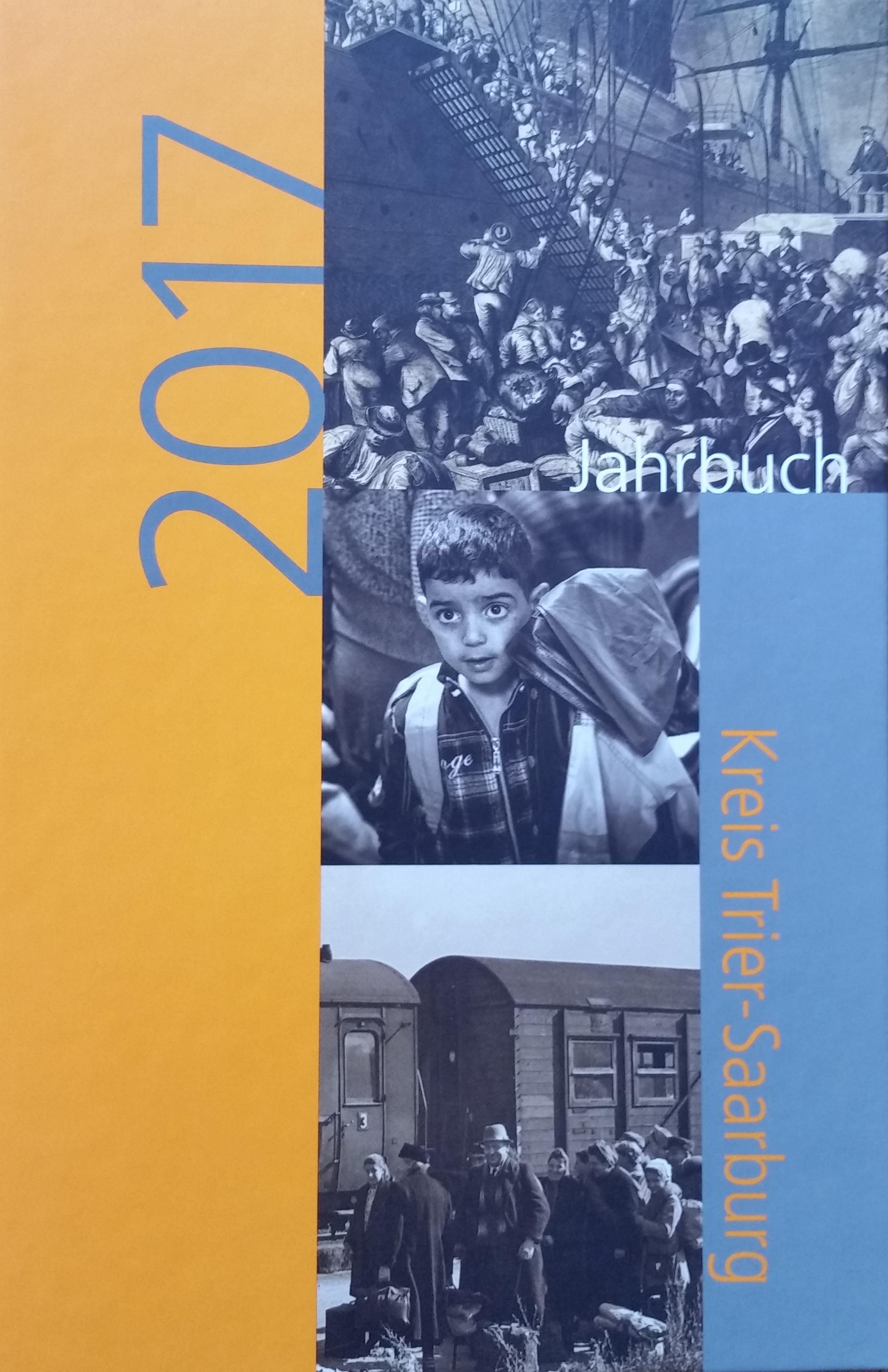 Jahrbuch 2017 Kreis Trier-Saarburg Bucheinband vorne
