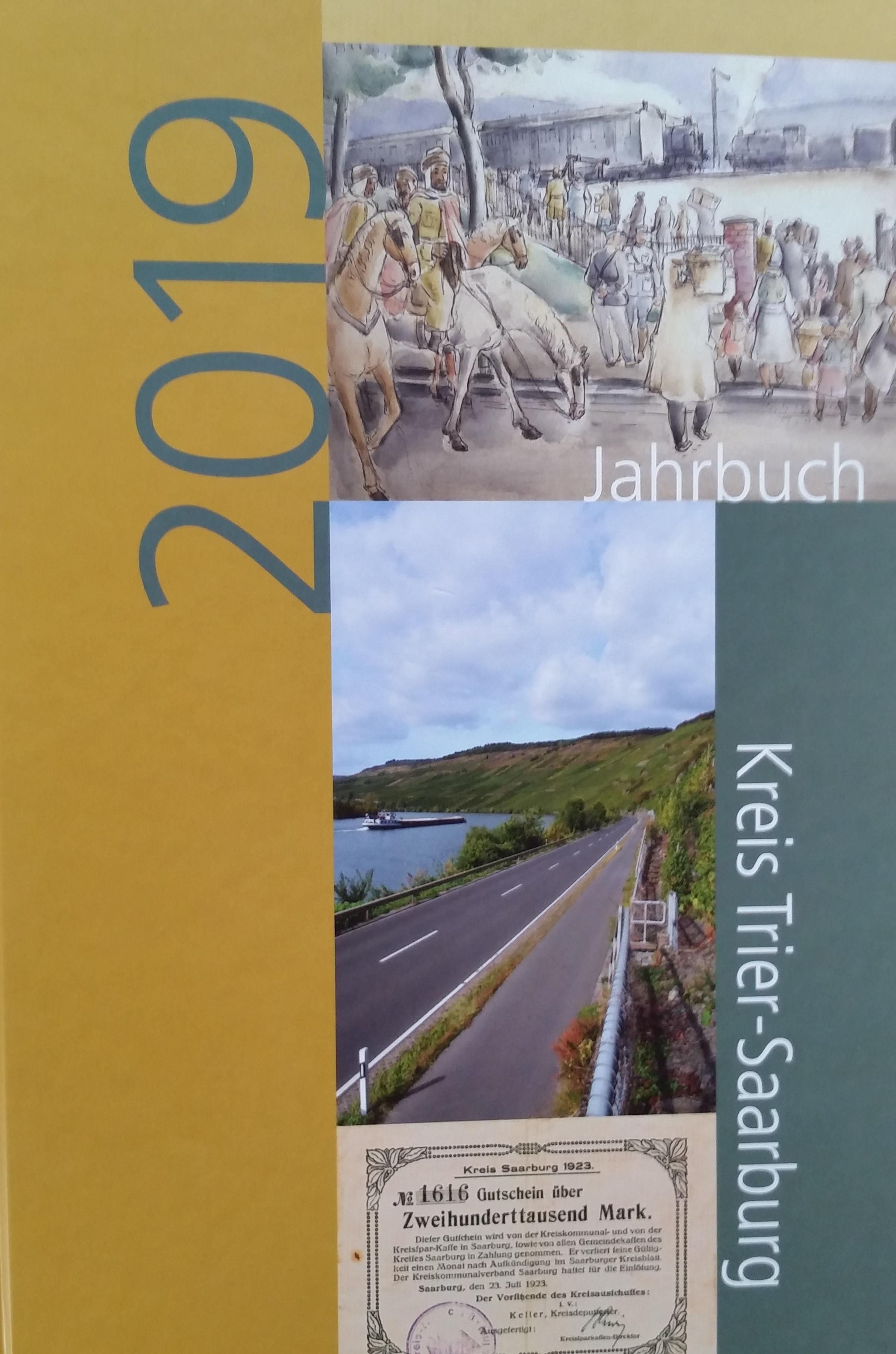 Jahrbuch 2019 Kreis Trier-Saarburg Bucheinband vorne